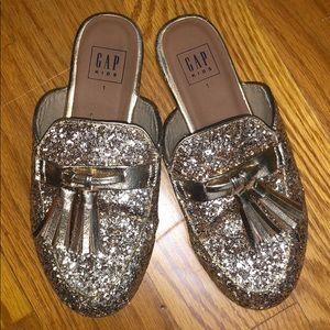 Girls sparkly slip on